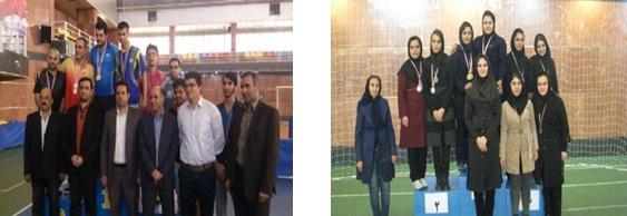 مقام آوران دانشگاه علامه طباطبائی در المپیاد شاهد و ایثارگر