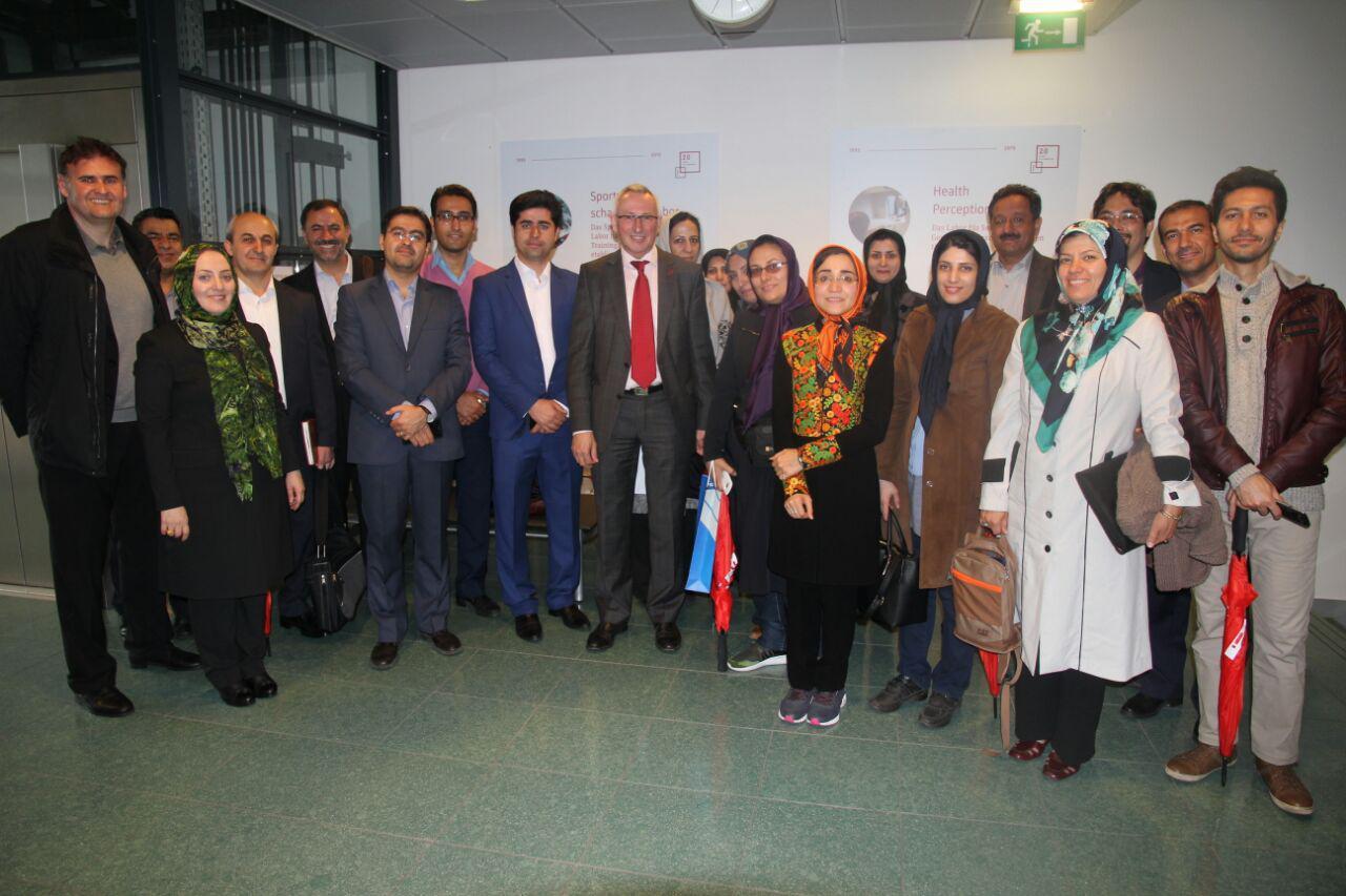 کارشناسان و مدیران شش دانشگاه ایرانی از دانشگاههای اتریش بازدید کردند