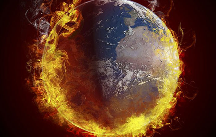 افزایش جنگها در پی موج گرمایش زمین