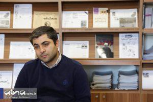 علیرضا قنبری، مسئول خانه نشریات دانشگاه علامه طباطبائی