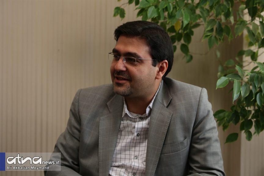 امیر زندمقدم، مدیر مرکز چاپ و انتشارات دانشگاه علامه طباطبائی