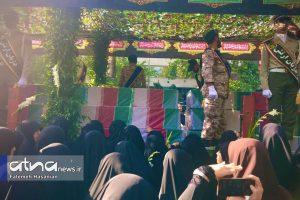 سوگ تشییع جنازه شهیدان